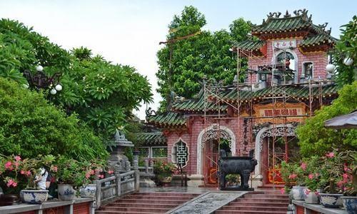 Pabellón de asambleas chino, Hoi An, Quang Nam, Vietnam
