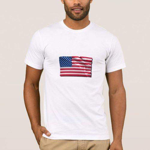 Us Flag T Shirt Zazzle Com Flag Tshirt Unisex Shirts T Shirt