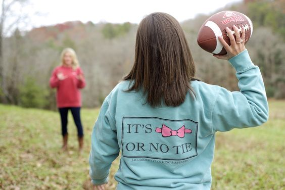 J.R. Crider's Clothing & Apparel- the No Tie Women's long sleeve tee