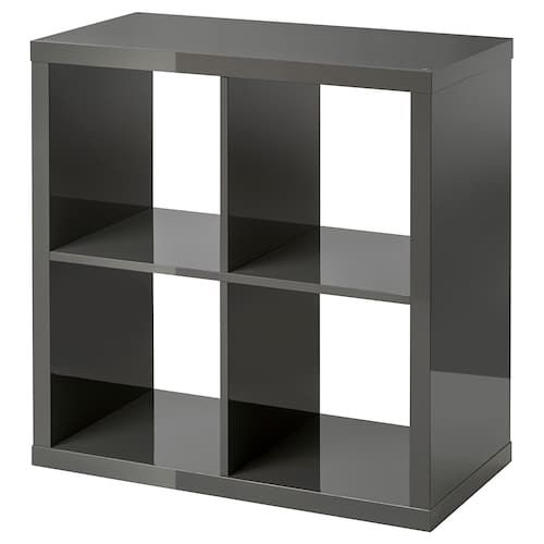 Kallax Shelf Unit Black Brown 30 3 8x30 3 8 Kallax Shelf Unit Kallax Shelf Shelf Unit