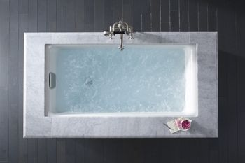Lovely Tub to replace the old ugly  Whirlpool.  Its a option.