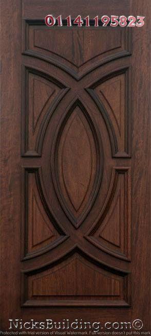 اشكال ابواب خشب داخلية Wooden Main Door Design Solid Wood Doors Single Door Design