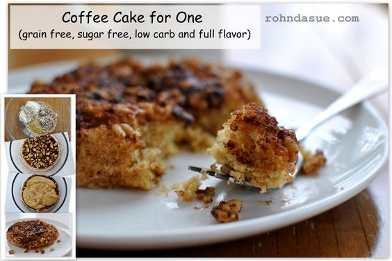 Coffee Cake for One! (S) https://www.facebook.com/rohndasue/photos/a.611544655567674.1073741828.607566665965473/632842980104508/?type=1&theater
