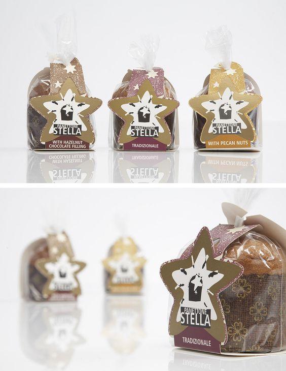 Stella Panettone Packaging Designed by: Whirligig Creative, London #packaging-design #branding #logo-design #food-packaging #retail-design #whirligig-creative #panettone