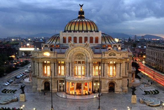 palacio de bellas artes , mexico df