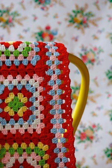 ...by sarah london textiles: Crochet Blankets, Crochet Granny, Colors Crochet, Crochet Afghans, Granny Square Blanket Border, Crochet Blanket Edging, Color Combination