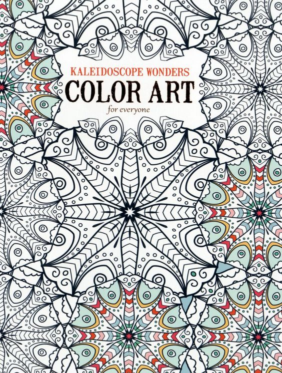 kaleidoscope activity coloring pages - photo#7