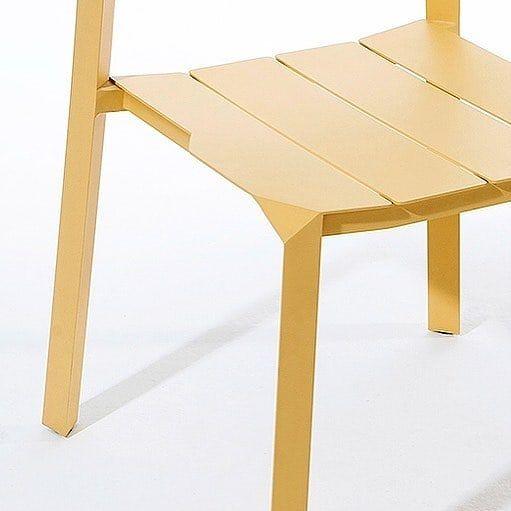 Tri Tube Aluminium Chair By Thinkkstudio For Kun Follow Platform For Daily Design Conte Aluminum Chairs Minimalist Furniture Design Minimalist Furniture