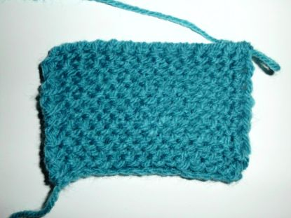 Tunisian Purl stitch tutorial.