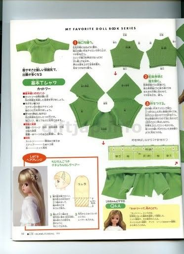 Mimin Lalki: ubrania dla lalki - kompletny magazyn