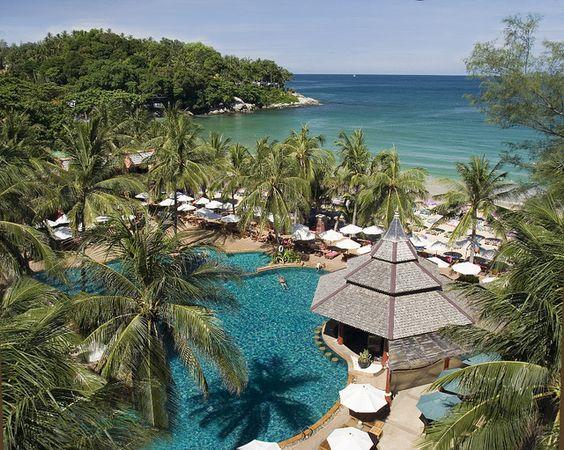 Kata Beach Et Thailand