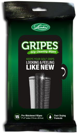 Gripes. A Great New Grip Cleaning Product from Lamkin