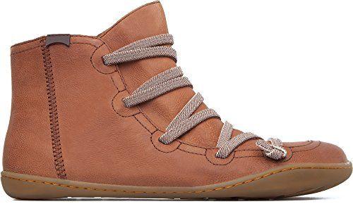 Camper Women Peu Cami Chelsea Boots, Brown (Medium Brown…