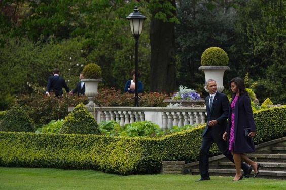 Gb, gli Obama a Windsor: buon compleanno alla regina Elisabetta