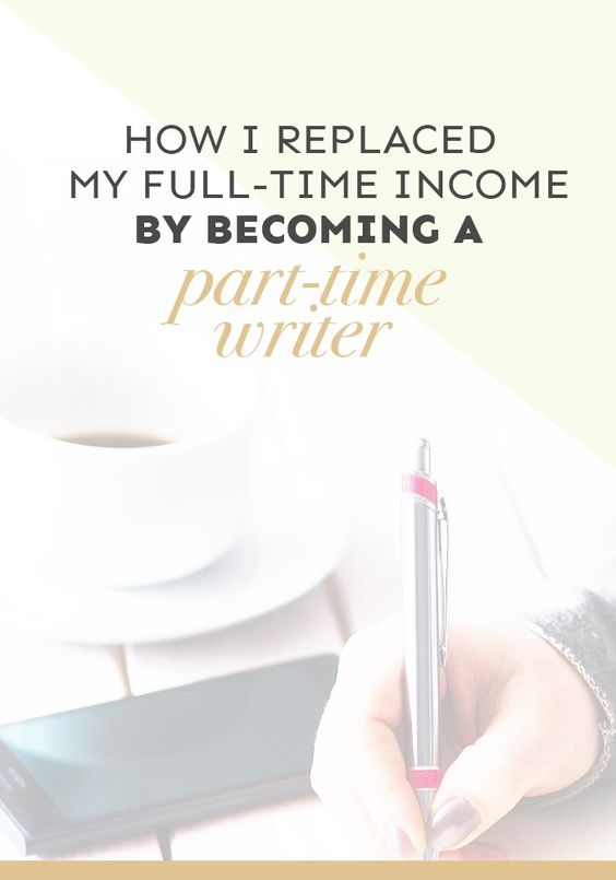 Part time writer