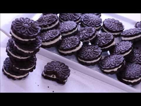 بسكويت اوريو ذوق اصلي وكمية وفيرة الشيف نادية Recette Oreo Maison Facile Economique Youtube Food Desserts Biscuits