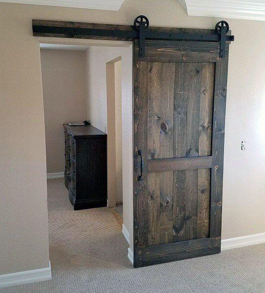 Top 60 Best Sliding Interior Barn Door Ideas Interior Designs Interior Barn Doors Rustic Barn Door Barn Doors Sliding