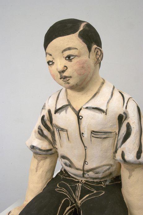 Akio Takamori's ceramic sculpture, 2007.
