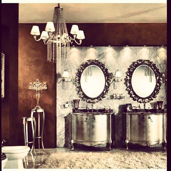 For the love of silver #bathroomideas #iadlifestyle by iad.lifestyle Bathroom designs.