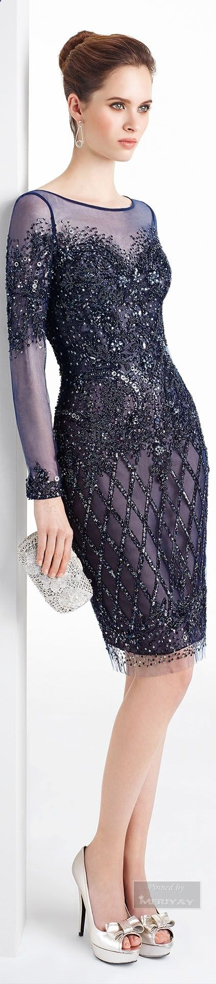 Lane Bryant - Lane Bryant Sequin Cap-Sleeve Dress | Ropa formal ...