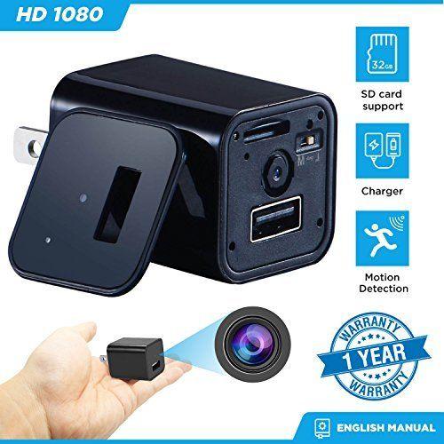 Detective HD Safety Camera Pen Camcorder Peek DVR Monitor Surveillance 32GB