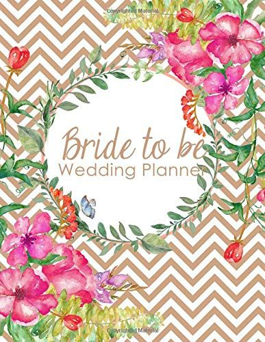 Bride to Be Wedding Planner: A 100 Page Ultimate Tying the Knot Organizer, Coral Chevronhttps://www.amazon.com/dp/1792965222/ref=cm_sw_r_pi_dp_U_x_DV4kCb61G64VJ  #weddingplanner #weddingideas