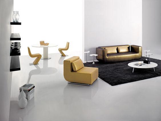 Reclining Sofa Simply Casa us SIMPLY SOFA Contemporary living room modern living room Gold contemporary sofa
