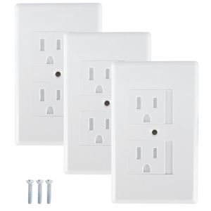 Lucile's List electrical plug covers