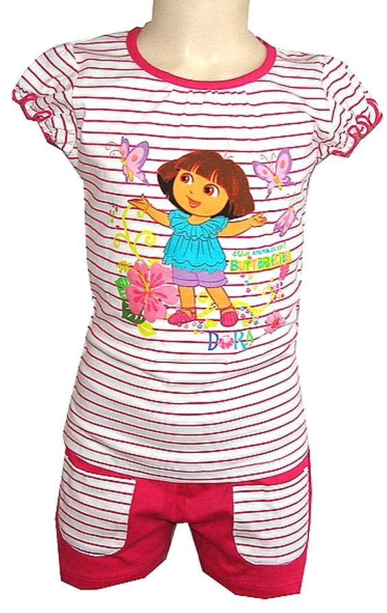 Tolles Dora Outfit mit süsse print  jetzt  12,00 €