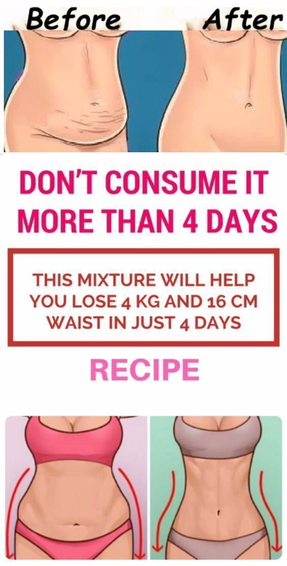 how can i lose weight in 4 days