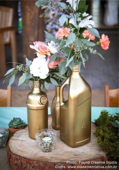 Decora??o de Casamento r?pida e barata: arranjos de flores ...