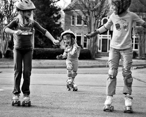 learning to roller-skate