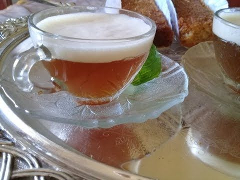 Un Tres Bon The Avec Un Petit Secret احلى واطيب شاي من مطبخي بمقادير مضبوطة وسر البنة Youtube Boisson