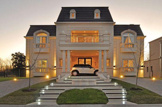 Galeria fotos a r arquitectos casa estilo cl sico - Casas estilo frances ...