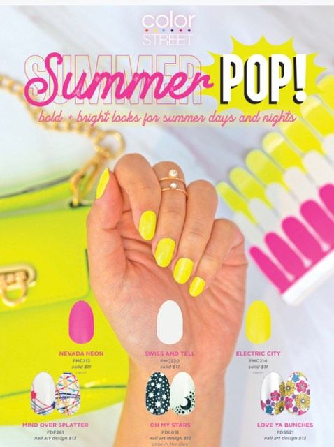 Summer Pop Color Street Nail Polish Collection Launch Bold