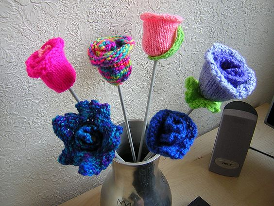 Knit Flowers for Mam | Andrew Craig Williams