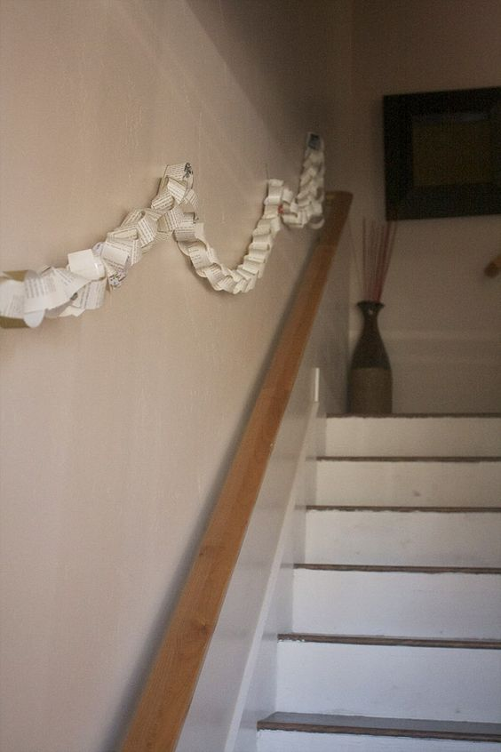 such a neat idea, make paper chain to countdown your pregnancy