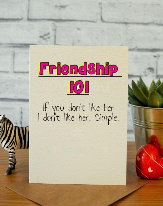 Friendship 101 Birthday Cards For Mum Birthday Presents