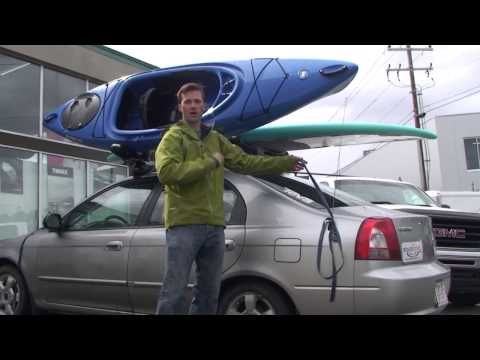 Question What Is The Best Way To Tie Down A Kayak To A Roof Rack On A Car Or Suv In 2020 Kayaking Roof Rack Car