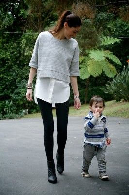 MOMMA LOVES… the layered look for women and children