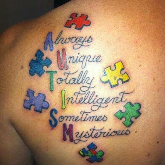 Autism Quotes For Tattoos Quotesgram: Autism Tattoos, Autism And Autism Awareness On Pinterest