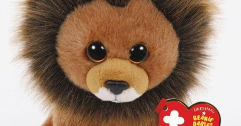 Cecil the Lion Beanie Baby is being created to generate proceeds for wildlife conservtion fund. Great gift for a youngster in your life. #mywatergallery