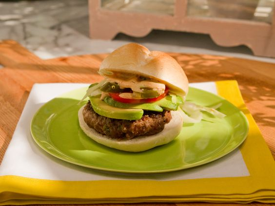As seen on The Kitchen: Marcela's Spicy Oregano Burgers
