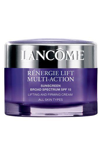 Lancôme 'Rénergie Lift Multi-Action - All Skin Types' Sunscreen Broad Spectrum SPF 15 Lifting & Firming Cream | Nordstrom