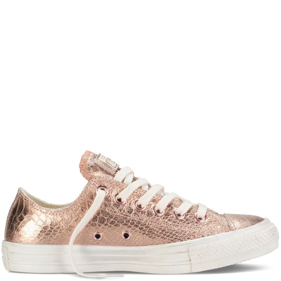 Converse Chuck Taylor Metallic Women Sneakers Rose Gold