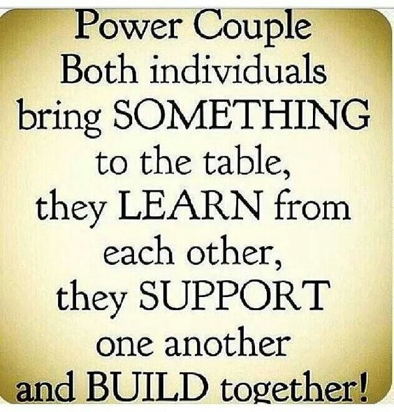 Some day when you search for power couple, both of our names and pictures will pull up T and B