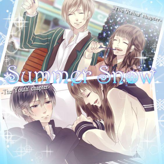 Summer Snow ~first love~ ☆Voice actors (Seiyu) Full voice love story☆  CV:Yuiya Hiiragi CV:Minori Torii CV:Saeko Shinomiya CV:Sho Nakamura   https://itunes.apple.com/app/summer-snow-first-love-fully/id838633689    https://play.google.com/store/apps/details?id=com.koyonplete.rnsnow&hl=en  Free DL!!!!!! Please enjoy this game!!  #koyonplete #otomegame #otome
