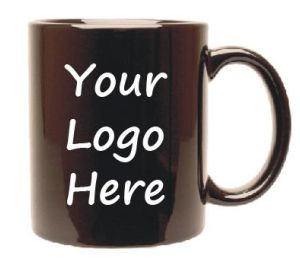 Customize your own mug with your logo on.