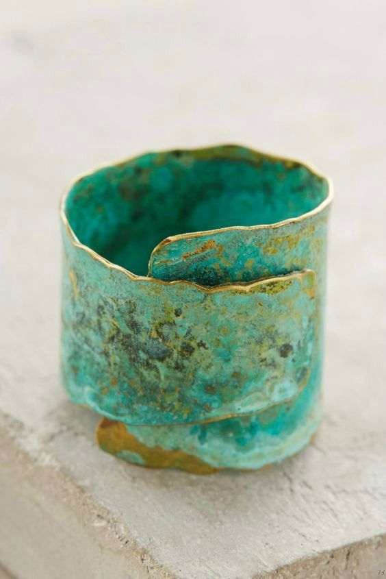 http://indigo–soul.tumblr.com/    This unique brass Restoration Ring by Buenos Aires-based jewelry designer Fernanda Sibilia is handmade in Argentina.