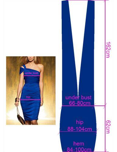 YH07035BL-M4.jpg (385×500) as dos bandas de tela deben tener una largura mínima igual a tu estatura, aunque la medida más aceptada es de 1,5 veces tu estatura.   Para calcular el ancho de la banda mide la distancia entre la mitad del pecho y el exterior del brazo. Puedes utilizar solo la anchura de medio pecho pero, si incluyes el brazo, tendrás más éxito con el estilo de hombros cubiertos